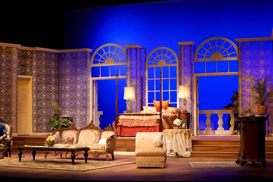 Cat on a hot tin roof high school play stageables for Hot tin roof custom home design